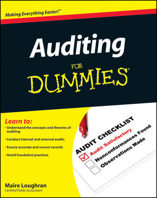 Auditing For Dummies (Paperback)