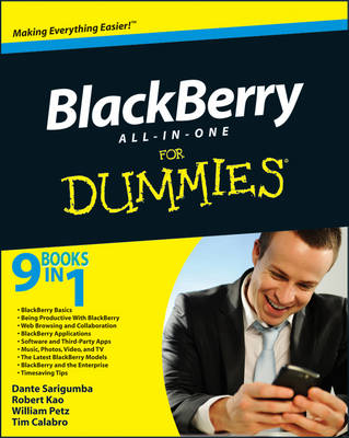 BlackBerry All-in-One For Dummies (Paperback)