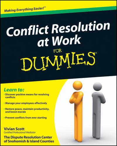 Conflict Resolution at Work For Dummies (Paperback)