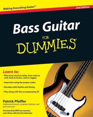 Bass Guitar Basics For Dummies (Paperback)