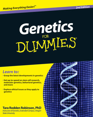 Genetics For Dummies (Paperback)