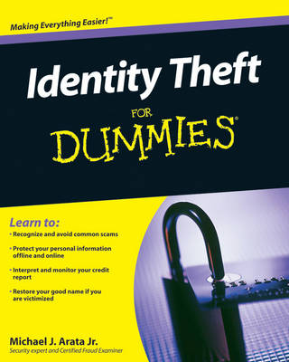 Identity Theft For Dummies (Paperback)