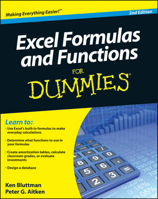 Excel Formulas and Functions For Dummies (Paperback)