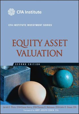 Equity Asset Valuation - CFA Institute Investment Series (Hardback)
