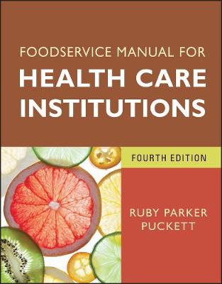 Food Service Manual for Health Care Institutions - J-B AHA Press S. (Paperback)
