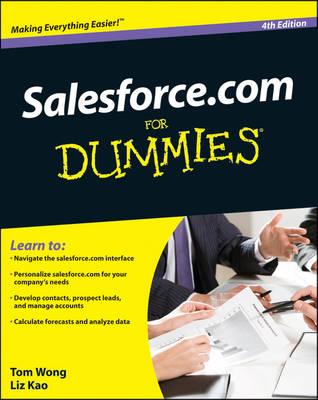 Salesforce.com For Dummies (Paperback)