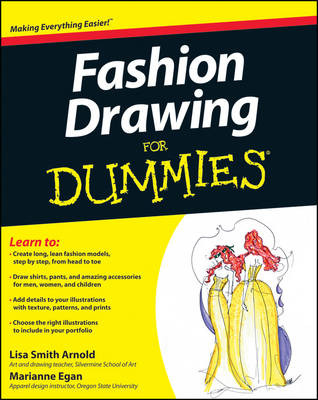 Fashion Drawing For Dummies (Paperback)