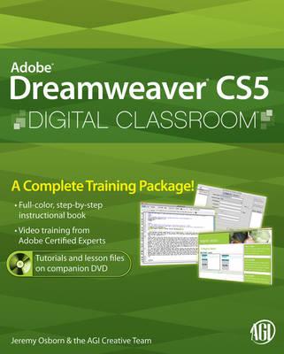 Dreamweaver CS5 Digital Classroom - Digital Classroom (Paperback)