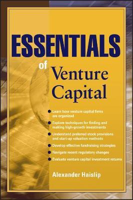Essentials of Venture Capital - Essentials Series (Paperback)