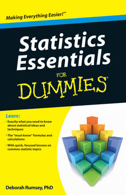 Statistics Essentials for Dummies (Paperback)