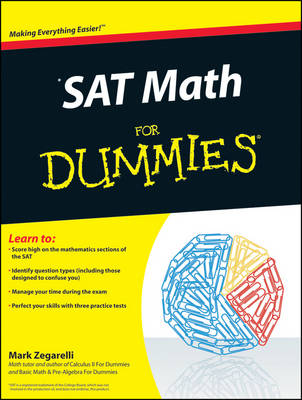 SAT Math For Dummies (Paperback)