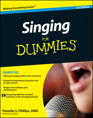 Singing For Dummies (Paperback)