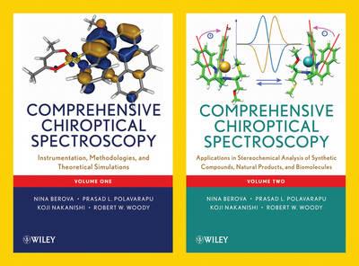 Comprehensive Chiroptical Spectroscopy: 2 Volume Set (Hardback)