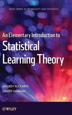 An Elementary Introduction to Statistical Learning Theory - Wiley Series in Probability and Statistics (Hardback)