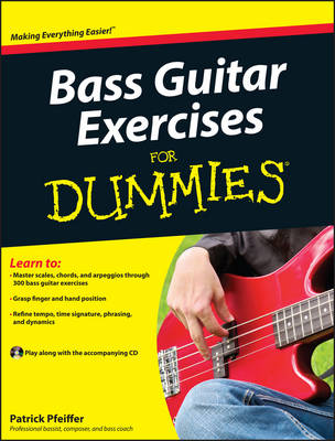 Bass Guitar Exercises For Dummies (Paperback)