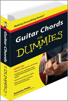 Guitar Chords for Dummies (Paperback)