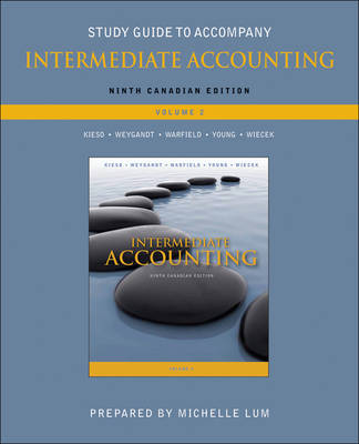 Study Guide to accompany Intermediate Accounting, Volume 2 (Paperback)