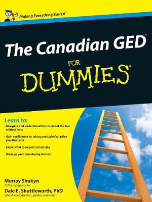 The Canadian GED For Dummies (Paperback)