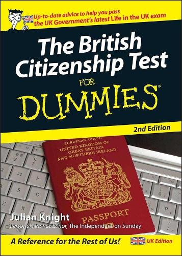 The British Citizenship Test For Dummies (Paperback)