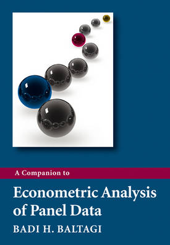 A Companion to Econometric Analysis of Panel Data (Paperback)
