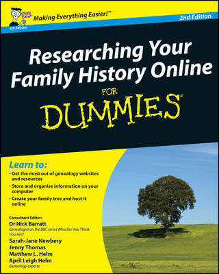 Researching Your Family History Online For Dummies (Paperback)