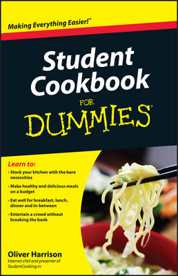 Student Cookbook For Dummies (Paperback)