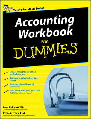 Accounting Workbook For Dummies (Paperback)
