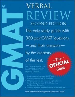 GMAT Verbal Review (Paperback)