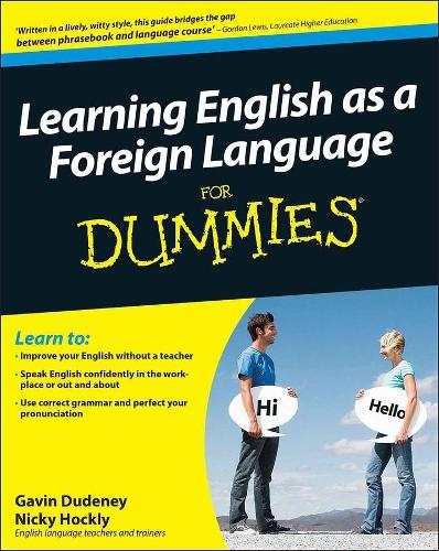 Learning English as a Foreign Language For Dummies (Paperback)