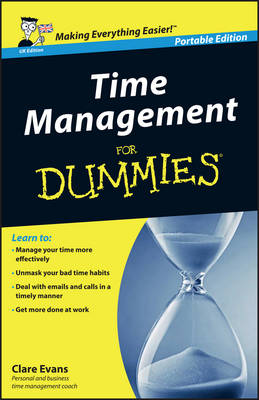 Time Management For Dummies - UK (Paperback)