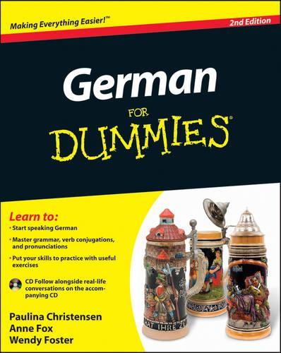German For Dummies: (with CD) (Paperback)