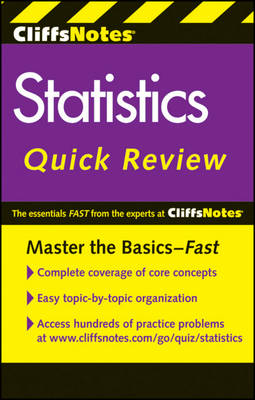 CliffsNotes Statistics Quick Review: 2nd Edition (Paperback)