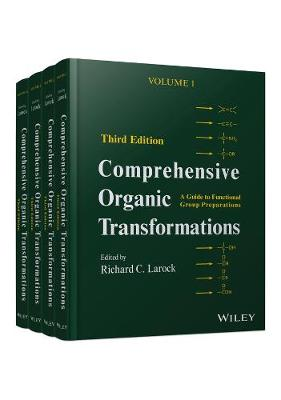 Comprehensive Organic Transformations: A Guide to Functional Group Preparations 4 Volume Set (Hardback)