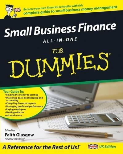 Small Business Finance All-in-One For Dummies (Paperback)