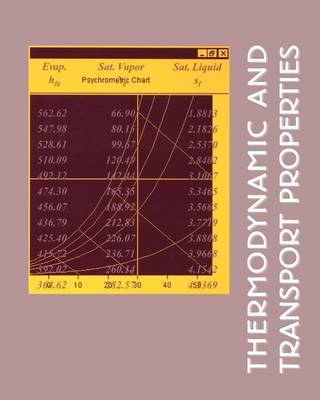 Tables of Thermodynamics and Transport Properties (Paperback)