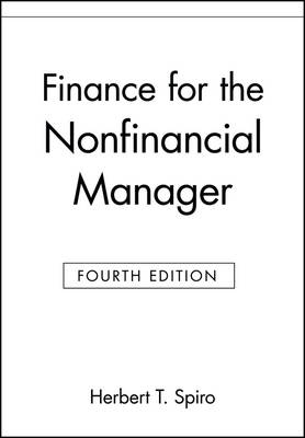 Finance for the Nonfinancial Manager (Paperback)