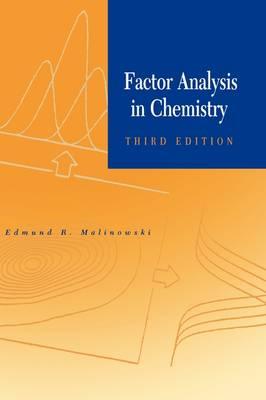 Factor Analysis in Chemistry (Hardback)