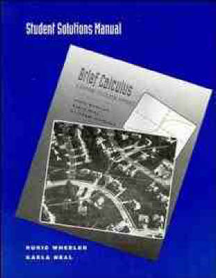 Brief Calculus: Students' Solution Manual: A Graphing Calculator Approach (Paperback)