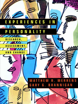 Experiences in Personality: Research, Assessment & Change (Paperback)