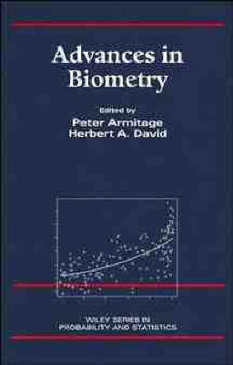 Advances in Biometry - Wiley Series in Probability & Statistics: Applied Section (Hardback)