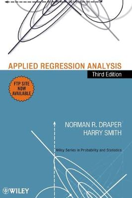 Applied Regression Analysis - Wiley Series in Probability and Statistics (Hardback)