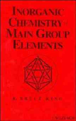 Inorganic Chemistry of Main Group Elements (Hardback)