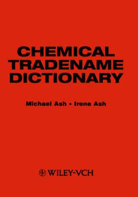Chemical Tradename Dictionary (Hardback)