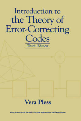 Introduction to the Theory of Error-correcting Codes - Wiley-Interscience Series in Discrete Mathematics (Hardback)