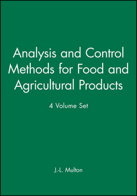 An Analysis and Control Methods for Food and Agricultural Products, 4 Volume Set (Paperback)