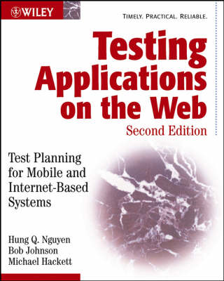 Testing Applications on the Web: Test Planning for Mobile and Internet-based Systems (Paperback)