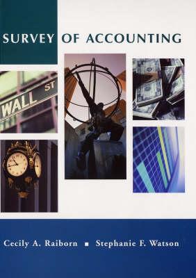 Survey of Accounting: Wall Street Edition (Hardback)