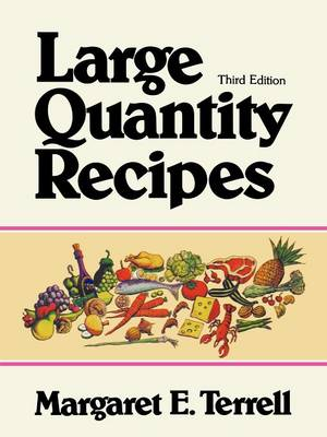 Large Quantity Recipes (Paperback)
