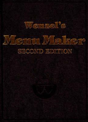 Wenzel's Menu Maker (Hardback)