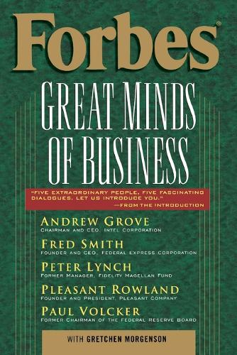 Forbes (R) Great Minds of Business (Paperback)